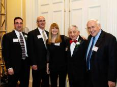 Stephen Murray '88; W. Allen Thomas; Anne O'Sullivan O'Bryant '71 George Simonian and Stephen Meidell