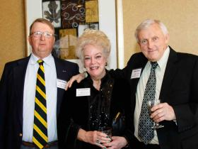 Bob Mackey '63 Nancy Delmore Hughes '65 Dennis Hunt '64