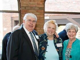Bernie Battle Dean Denise Coffey Teacher June Battle Ann Swierzbin