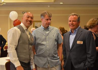 L-R Tony Trainor, Kris Pisarik, Steve Bosselman (Traveled the Farthest)