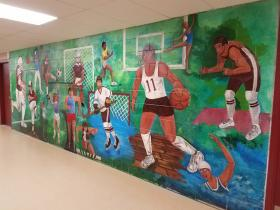Athletic Mural View 2