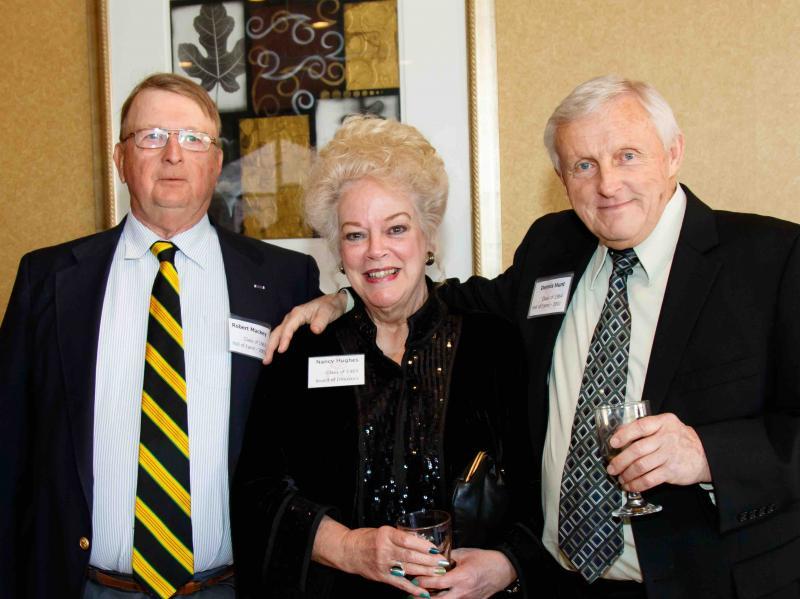 Bob Mackey '63 Nancy Delmore Hughes '65 Dennis Hunt '64