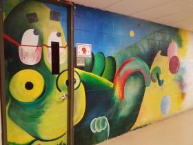 Lions Den Child Care Mural