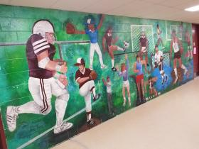 Athletic Mural View 1